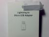 Lightining to Micro USB adapter