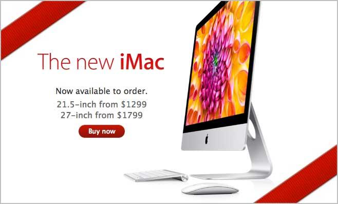 """Новые Apple iMac 21.5"""" и 27"""""""