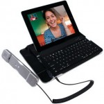 Телефонная трубка и клавиатура для iPad