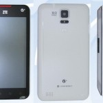 Компания ZTE готовит к выпуску смартфон с 5″ экраном