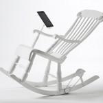 Кресло-качалка для зарядки iPad