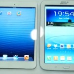 Сравниваем iPad mini и новый Samsung Galaxy Note 8.0 (Видео)