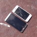 Краш-тест HTC One против iPhone 5 (Видео)