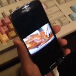 Демонстрация новых возможностей Samsung Galaxy S IV (Видео)