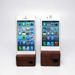 Аудиодок для iPhone и iPad из дерева