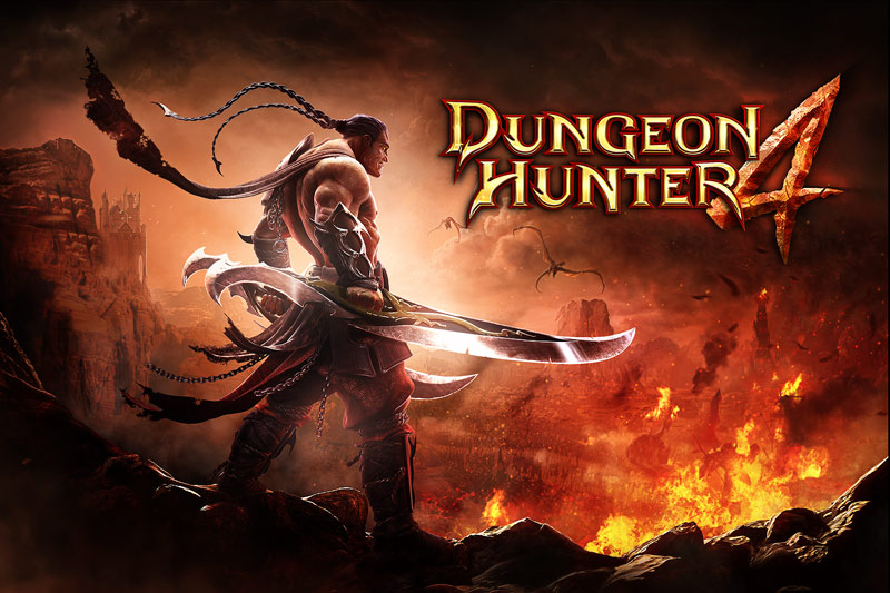 Игра Dungeon Hunter 4 доступна на Google Play Android