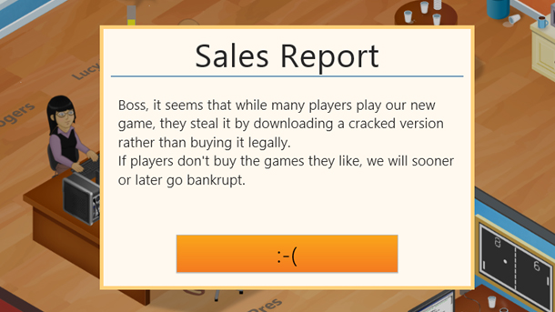 Разработчики мобильной игры заставили пиратов бороться самих с собой.