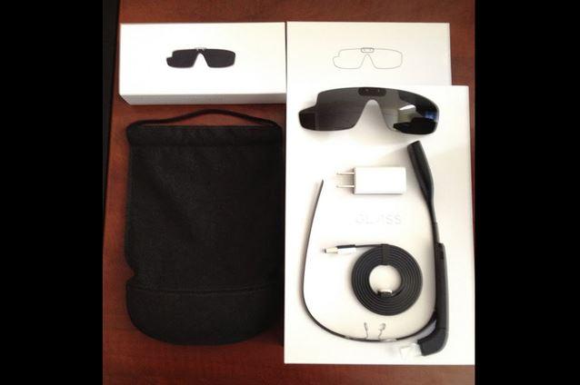 Google Glass, распаковка