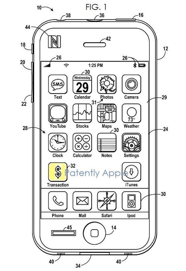iWallet patent