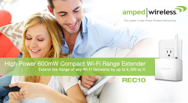 Amped Wireless REC10 WiFi усилитель WiFi сигнала