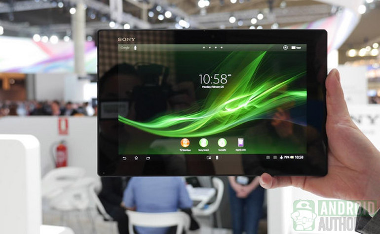Стартовали продажи Sony Xperia Tablet Z