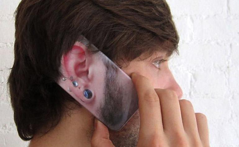 Чехол ухо