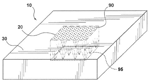 Apple invisible buttons patent