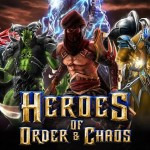 Heroes of Order & Chaos: Мультиплеерная Android игра от компании Gameloft