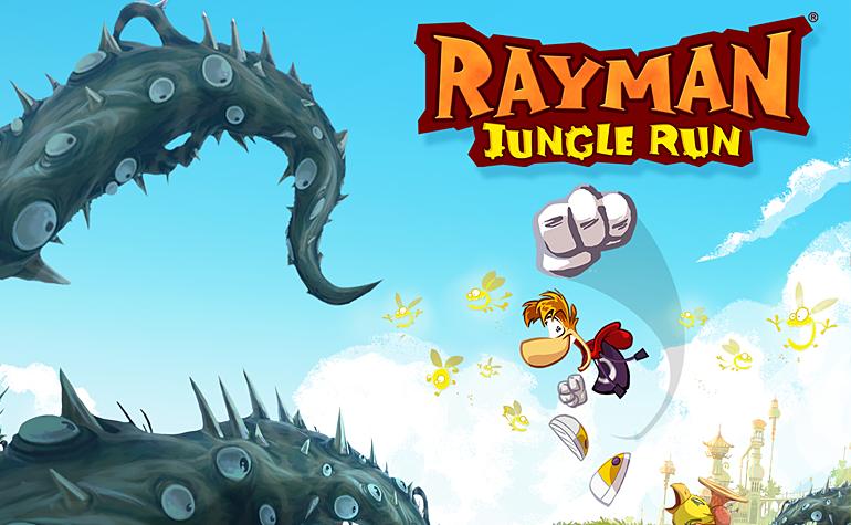 Ubisoft выпускает игру Rayman Jungle Run для Windows Phone 8