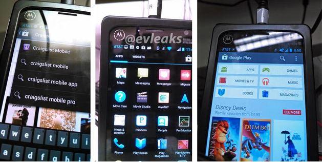 Motorola X Phone leaked