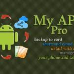 Приложение My APKs Pro  для резервного копирования вашего Android устройства