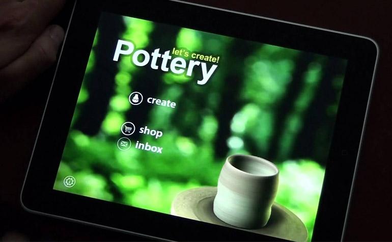 Приложение на Android для творческих людей - Let's Create! Pottery (Давайте создадим! Керамика)