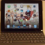 Чехол-клавиатура для iPad на солнечных батареях
