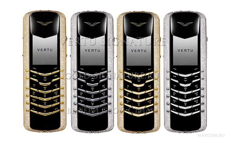 Vertu Signature Diamond Collection