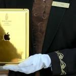 Отель Burj Al Arab в Дубаи предлагает посетителям золотые iPad