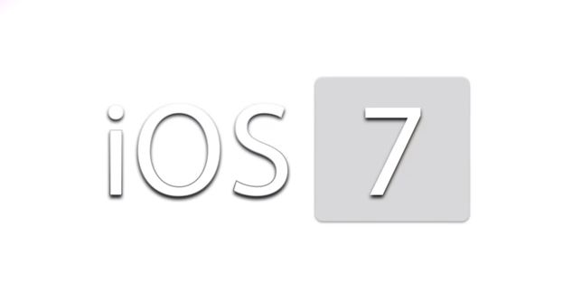 iOS 7 new design