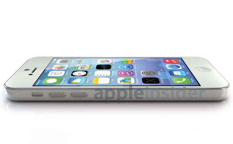 Render of budget iPhone
