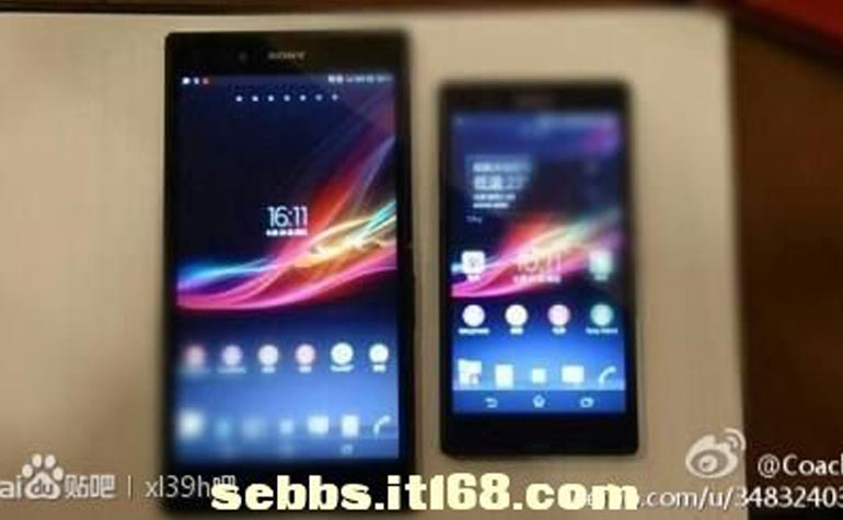Sony Xperia Z Ultra and Xperia Z