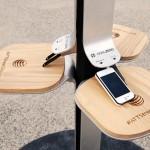 Street Charge – зарядная станция для смартфонов и планшетов