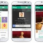 Vine video sharin app update