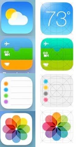 iOS 7 alternative icon