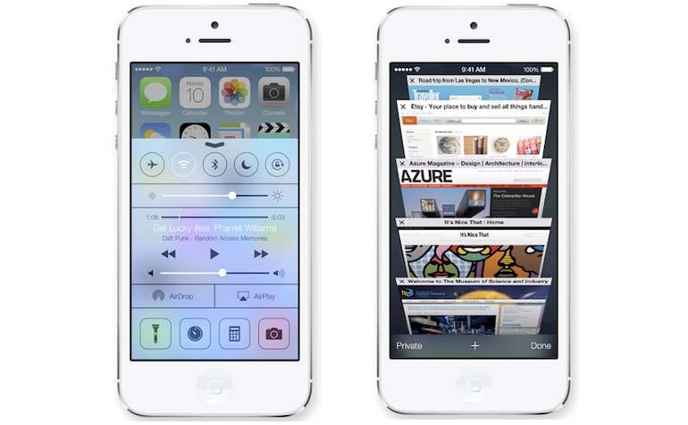 WWDC iOS 7 presentation