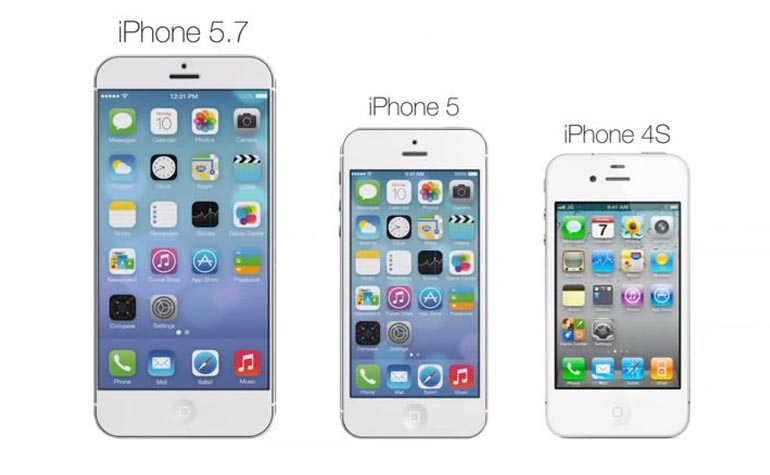 iPhone 5.7 inch