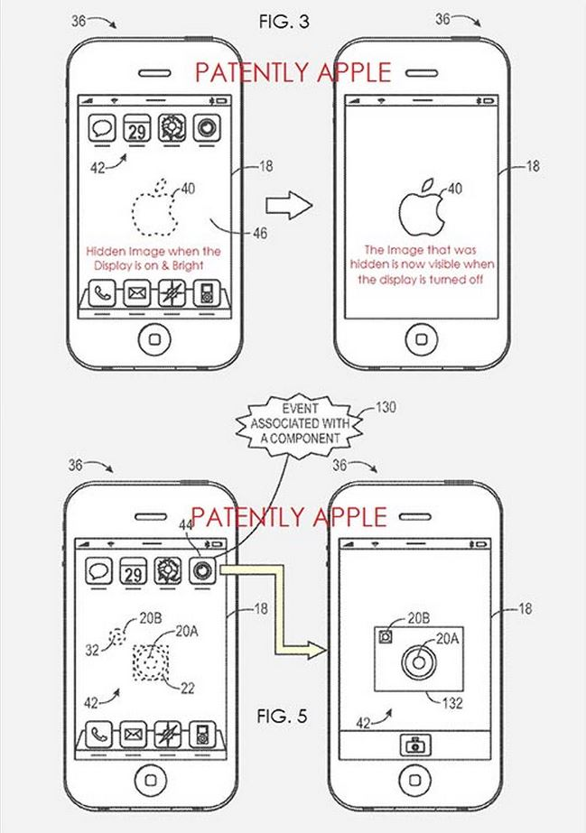 the new patent of apple