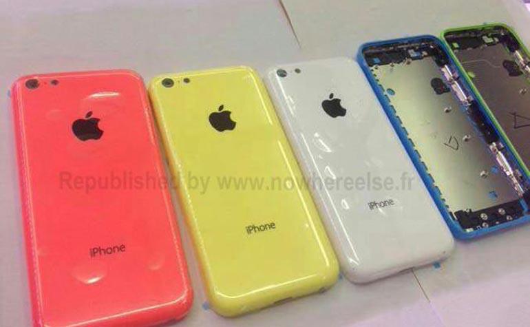 Back Panel of iPhone 5S photo leak