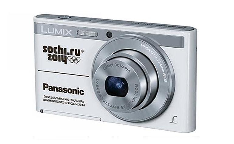 В продаже появились фотокамеры Panasonic LUMIX DMC-XS1 с символикой Сочи-2014