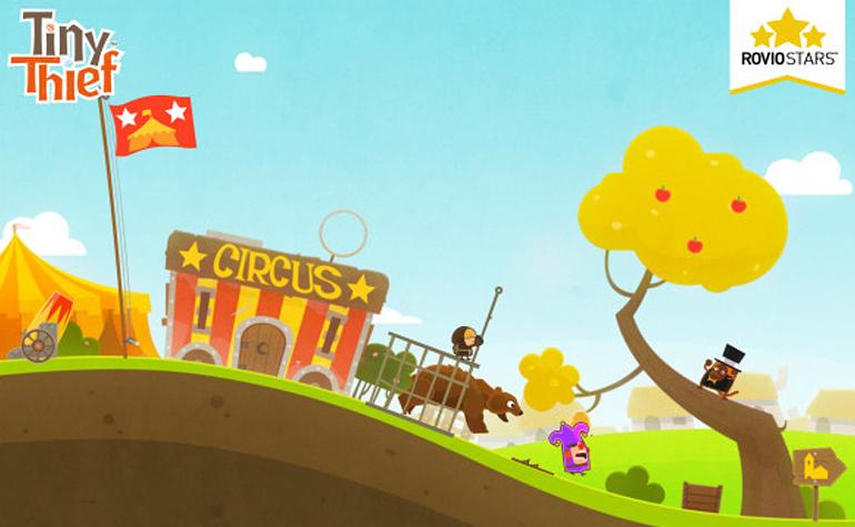 Tiny Thief - новая головоломка от создателей Angry Birds