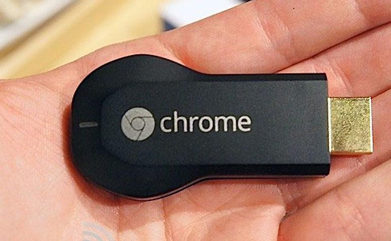 Chromecast - устройство для беспроводной передачи видеосигнала от Google