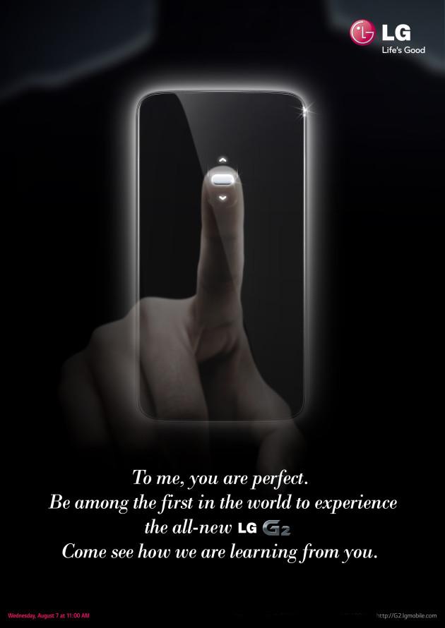 LG G2 invites