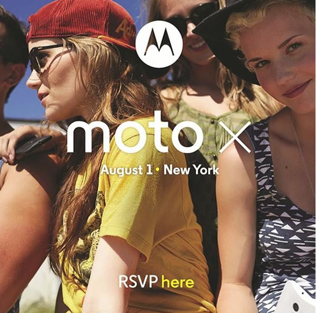 Moto X Invitation