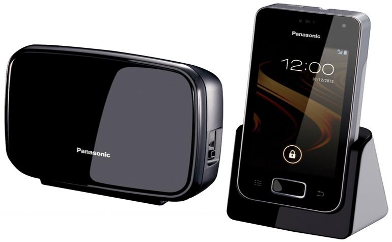 Panasonic представила стационарный телефон на Android