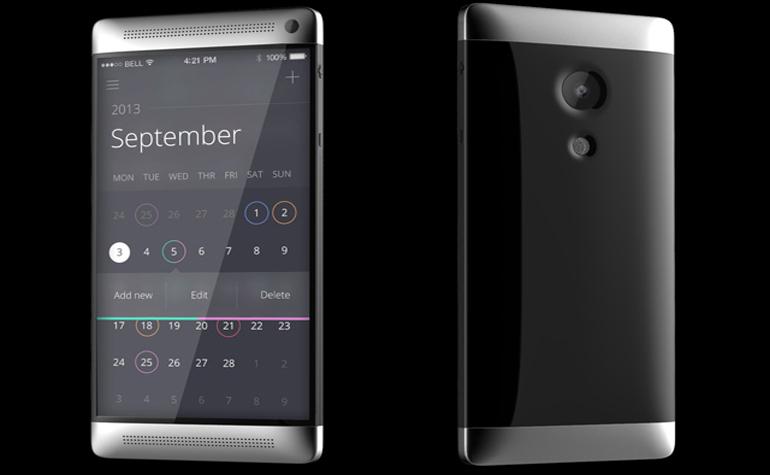 Предположительное фото нового смартфона от датской Bang & Olufsen