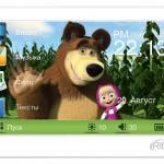 Детский медиаплеер Ritmix RP-450M HD «Маша и Медведь» скоро в продаже
