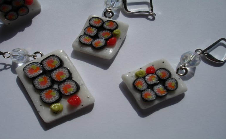 украшение суши