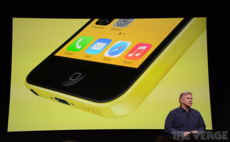 Презентация Apple: iPhone 5C и 5S