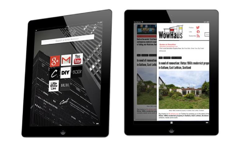 Новый браузер для iPad уже доступен