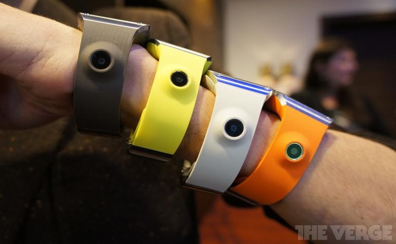 Samsung Galaxy Gear – «умные часы на» IFA в Берлине
