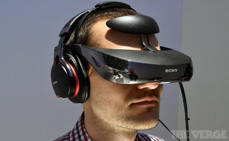 Персональный дисплей HMZ-T3 от Sony