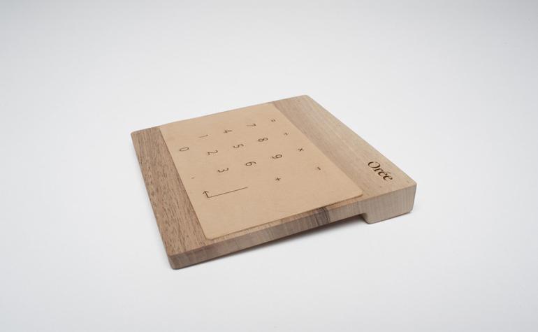 Беспроводная деревянная зарядка от Orée