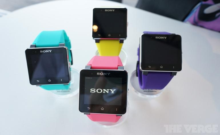 Sony презентовала SmartWatch 2 на IFA-2013